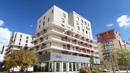 里昂交匯奧達利斯城市公寓式酒店