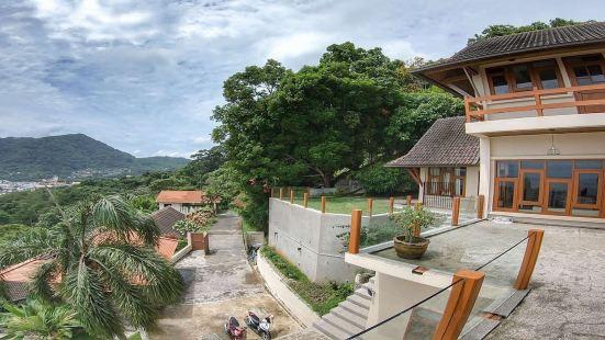225A泰国普吉岛芭东5卧室海景超大泳池别墅