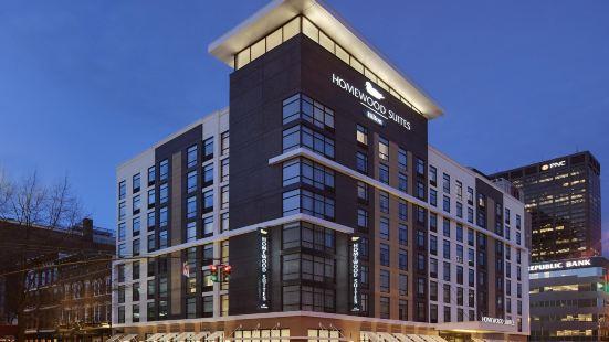 肯塔基路易斯威爾市中心希爾頓欣庭套房酒店