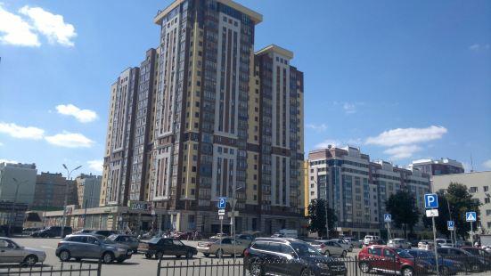 Apartment on Vokzalnaya 51A-7