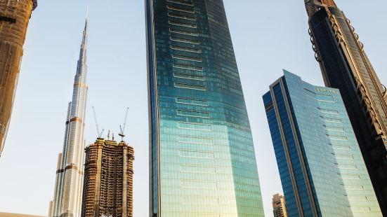 Dream Inn 48 Burj Gate Gulf View