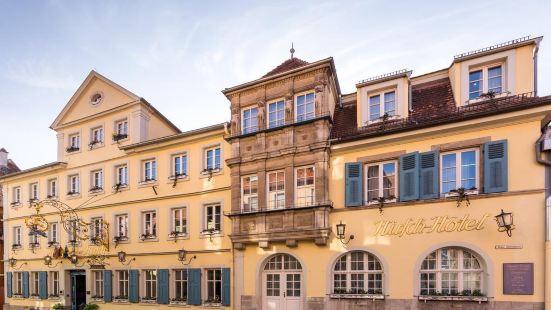 Historik Hotel Goldener Hirsch Rothenburg