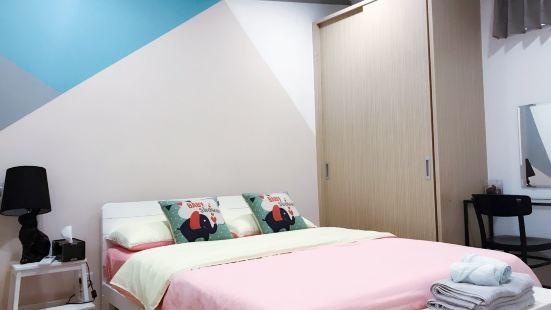 士林夜市附近鬧中取靜的平價4人雙房雙衞浴