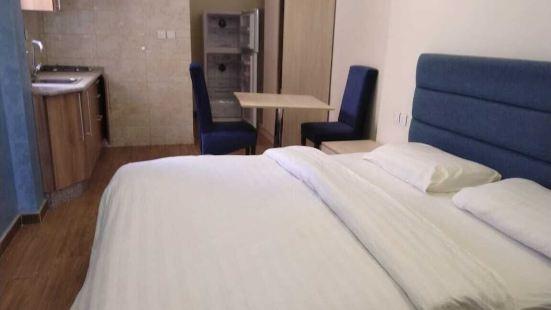 城市附近整潔 2 居公寓酒店