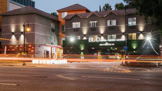BLVD 套房酒店 - 步行可至荷里活星光大道