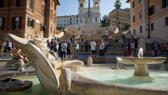 Holidays at The Spanish Steps