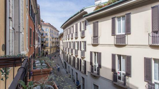 布雷拉迷人的米蘭公寓 - 麥當娜