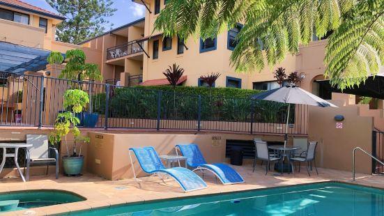 黃金海岸美人魚海灘公園景觀度假公寓
