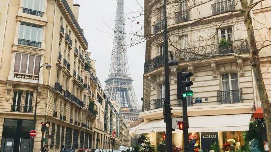 巴黎橘舍-铁塔(宜住2人)