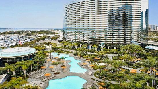 聖迭戈萬豪侯爵與濱海酒店