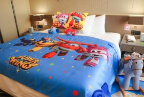 国际青年会议酒店【含早】超级飞侠酷芽亲子房