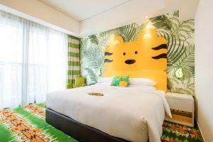 长隆香江酒店(广州长隆野生动物世界店)(【10月3人家庭套餐】大象房 3动物园)