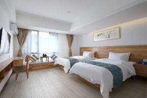 连城途寓酒店(【平日】温泉双床房带私密泡池+天一温泉)