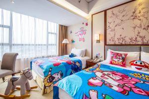 广州万盛名家酒店(超级飞侠酷芽亲子房+双人长隆野生动物园)