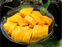 豪新鲜水果一体店(鲜切哈密瓜1盒+鲜切芒果1