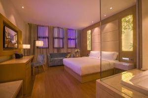桔子水晶酒店(野生动物园店)商务大床房+动物园门票