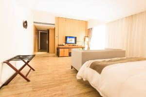 柏高酒店式公寓(广州暨南大学店)豪华大床房+带阳台