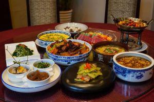 南京绿地御豪温泉酒店(四人土菜套餐)