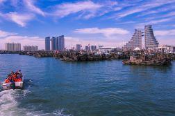 万平口+世帆赛基地捕鱼+快艇一日跟团游1人次