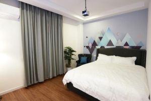 安途生酒店(广州北京路步行街分店)(北欧投影设备超大床房(有窗)-3小时)