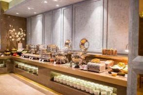上海静安寺和颐酒店自助早餐