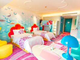 上海海昌海洋公园主题度假酒店(【周五含早】美人鱼家庭房+海昌海洋公园)