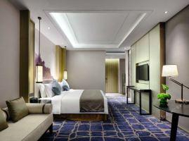 上海三甲港绿地铂瑞酒店(【单早】至尊高级大床房)