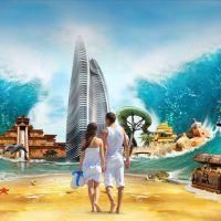 【含早】三亚亚特兰蒂斯酒店海景房+接送机+全球旅拍+迷你吧