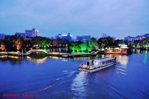 桂林桂山华星酒店两江四湖豪华船票一张