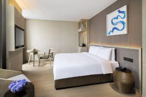 上海客莱福诺富特酒店(原康桥诺富特酒店)(高级房+家庭迪士尼平日票+免费巴士)