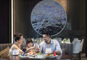 三亚丽禾酒店(末蓝中餐厅精选家庭套餐)