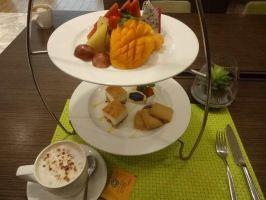 广州珠江新城希尔顿欢朋酒店(单人下午茶套餐)