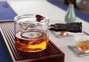 熹莲禅茶文化酒店(重庆爱琴海店)网红款木璃百财煮茶器