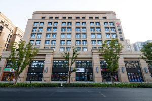 上海中建瑞贝庭酒店(行政大床房+双人上海玻璃博物馆+手工创意制作体验)