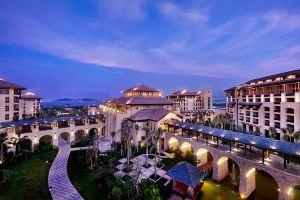 三亚海棠湾开维万达文华度假酒店【含早】豪华园景房+下午茶饮料+网红旅拍