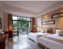 【国庆】御水温泉酒店豪华大床房+双人温泉
