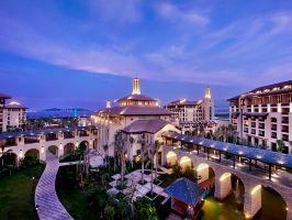 三亚海棠湾开维万达文华度假酒店(至尊豪华海景房+巴