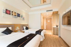 西安苹果之歌温泉酒店(【含早】豪华双床房)