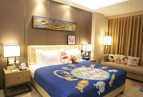 佛山千灯湖酒店(大嘴猴亲子主题房+亲子晚餐+2大1小早餐)