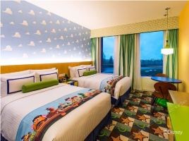 【亲子特惠】上海玩具总动员酒店(花园景观房+迪士尼乐园2大1小2日票)