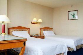 武汉亚洲大酒店-标准间+26楼旋转餐厅双人自助晚餐