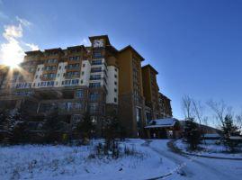 吉林市北大壶北美时光公寓酒店(【雪季预售】标准大/双床房+双人滑雪)