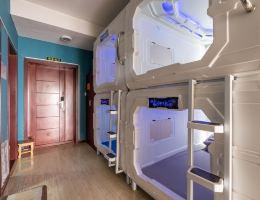 天津瑞丽太空舱青年旅舍(舒适经济房一舱位-30晚)