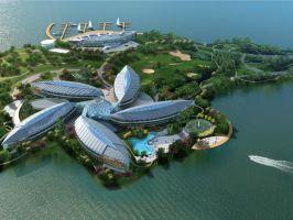 上海滴水湖皇冠假日酒店(皇冠高级房+海昌门票2张+2大1小自助早餐)