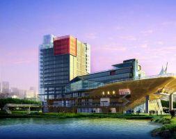 上海大船酒店(高级房+双人自助晚餐+4D影院1次)