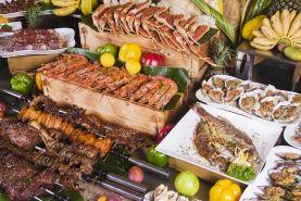 三亚海棠湾万达希尔顿逸林度假酒店-海鲜烧烤自助晚餐