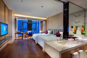 杭州富邦丽佳国际大酒店(含早高级双床/大床房+双人自助晚餐)