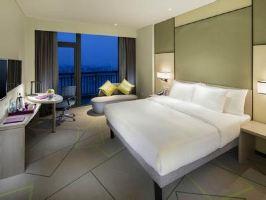 【含早】合肥万达美居酒店-园景大床房+万达主题乐园