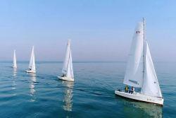 北海涠洲岛长云海景酒店涠洲岛南湾海上运动基地运动帆船体验