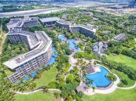 三亚海棠湾万达希尔顿逸林度假酒店(【2晚起含早】园景房+双人游轮出海+旅拍)